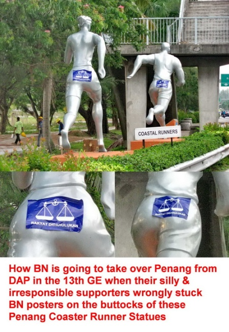 Penang Coaster Runner Statues 13-04-15